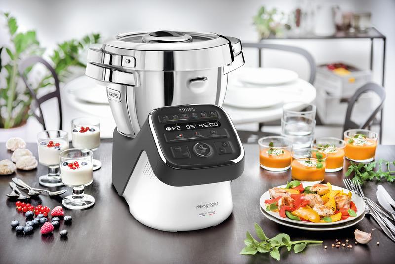Prep&Cook, el robot de cocina que te hará lucir como un chef profesional