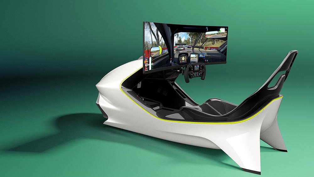 Aston Martin tiene el simulador de carreras más lujoso del mercado y es de edición limitada