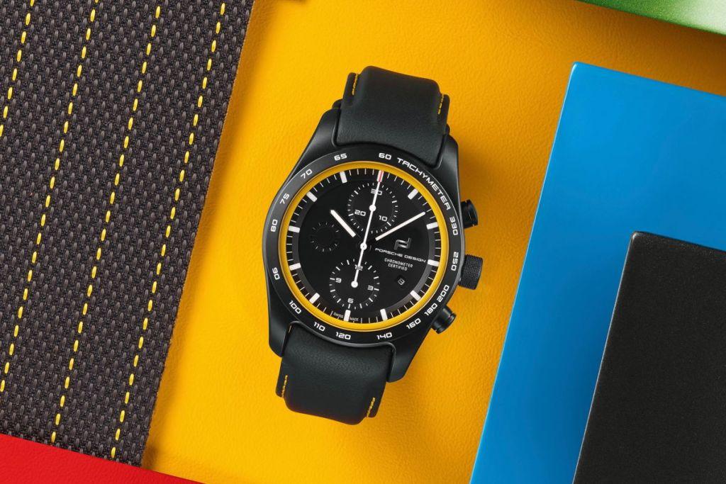 Que tu reloj combine con tu auto, solo Porsche Design lo puede hacer