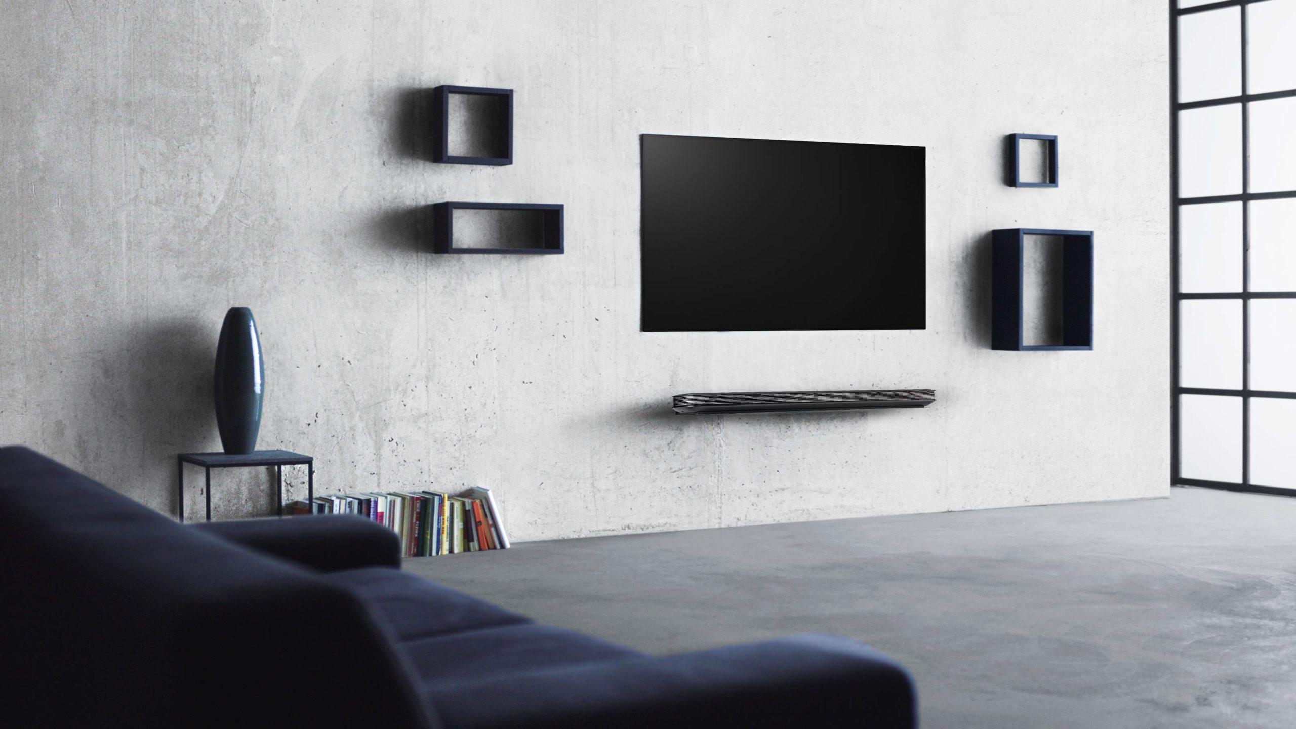 La nueva pantalla LG OLED se camufla a tu decoración como un lienzo más, a solo 20 mm de tu pared