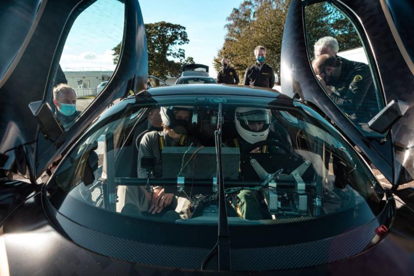 Lotus Evija, el hiperdeportivo eléctrico hizo su debut en la semana de la velocidad de Goodwood
