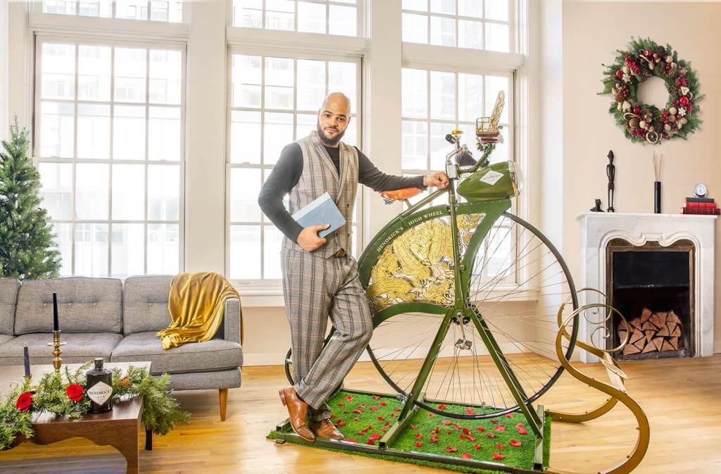¿Ejercicio y ginebra? Podría ser una buena mezcla con la nueva bicicleta de Hendrick's Gin