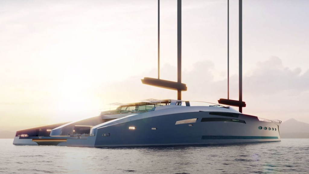Feadship y Merveille revelan el concept yacht Eco Explorer de 77,1 metros