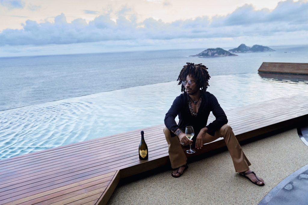 Dom Pérignon x Lenny Kravitz, el champán que te hará lucir como rockstar este fin de año