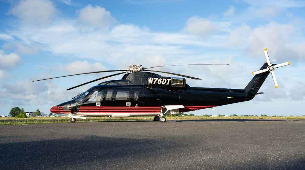 'Se vende': El famoso helicóptero S-76 de Donald Trump podría ser tuyo
