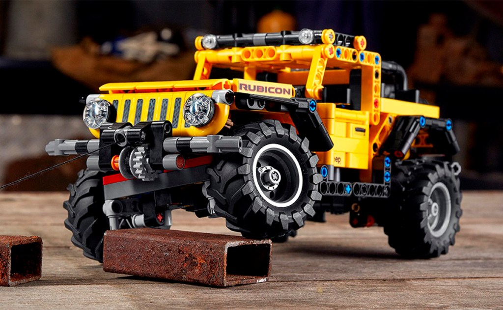 Jeep Wrangler versión LEGO, lista para armar y jugar en 2021