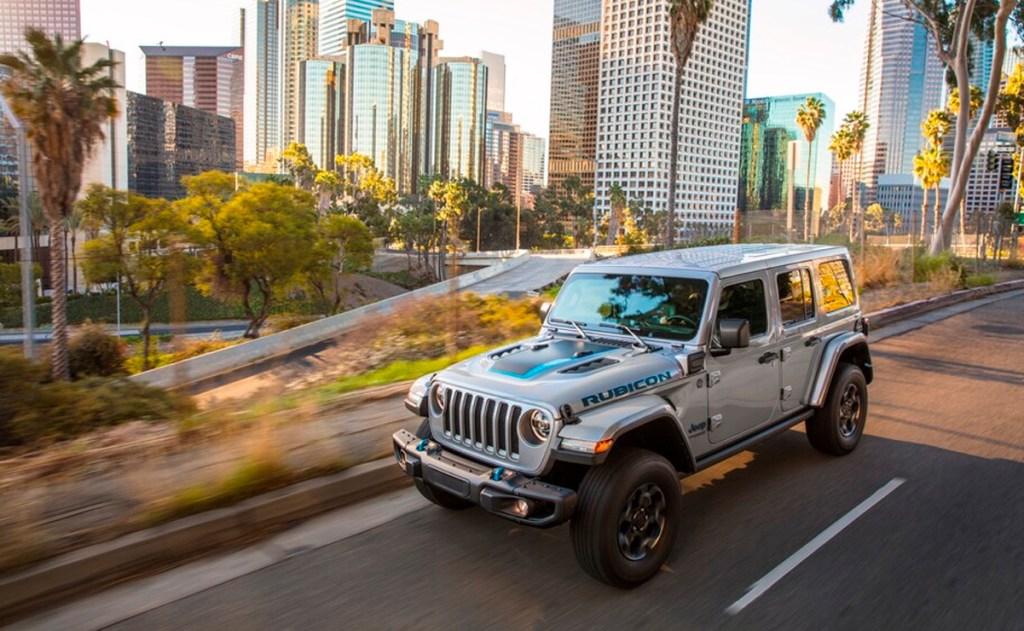 Ha llegado Jeep Wrangler 4xe 2021, la evolución del todoterreno al mundo híbrido