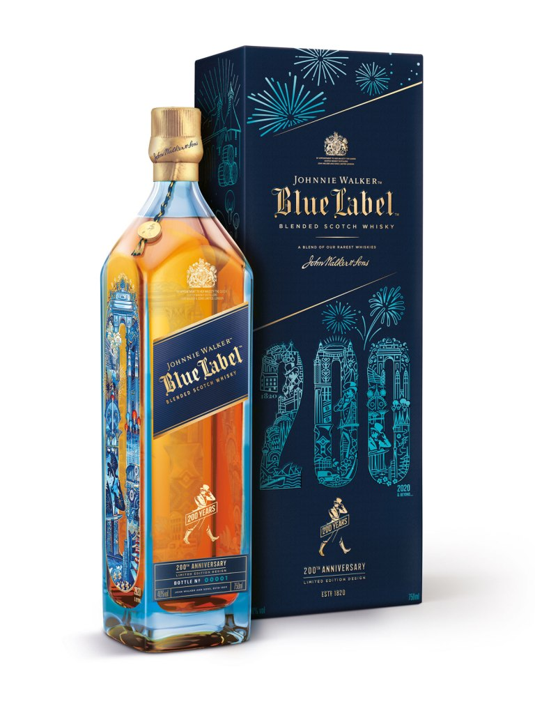 Johnnie Walker Blue Label 200th