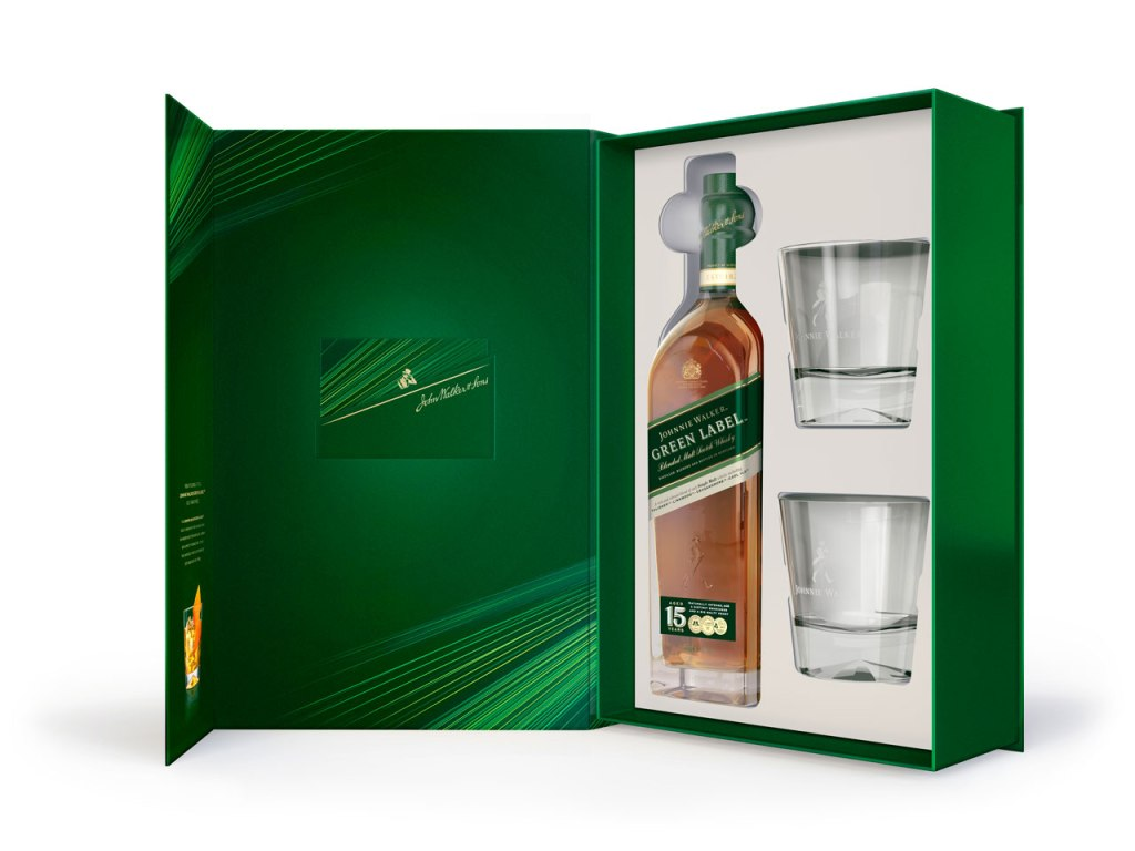 Johnnie Walker Green Label 15 años 200th