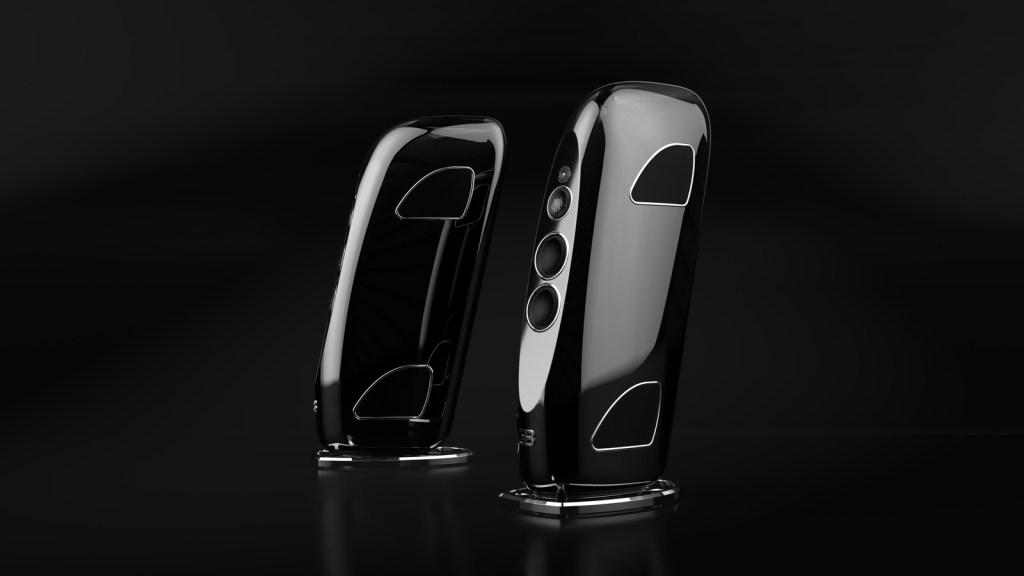 altavoces de Bugatti