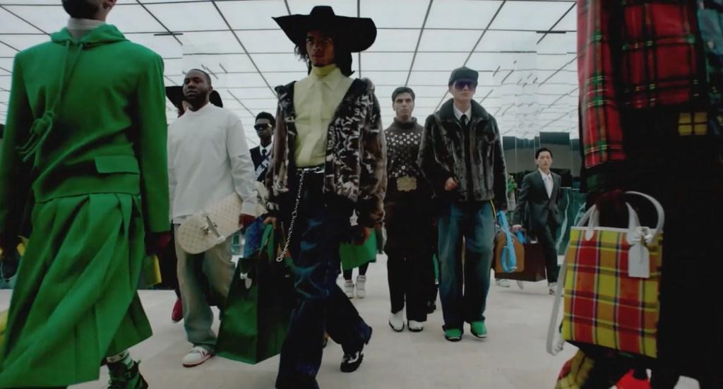 Moda, arte y cultura confluyen en la nueva colección masculina de Louis Vuitton por Virgil Abloh