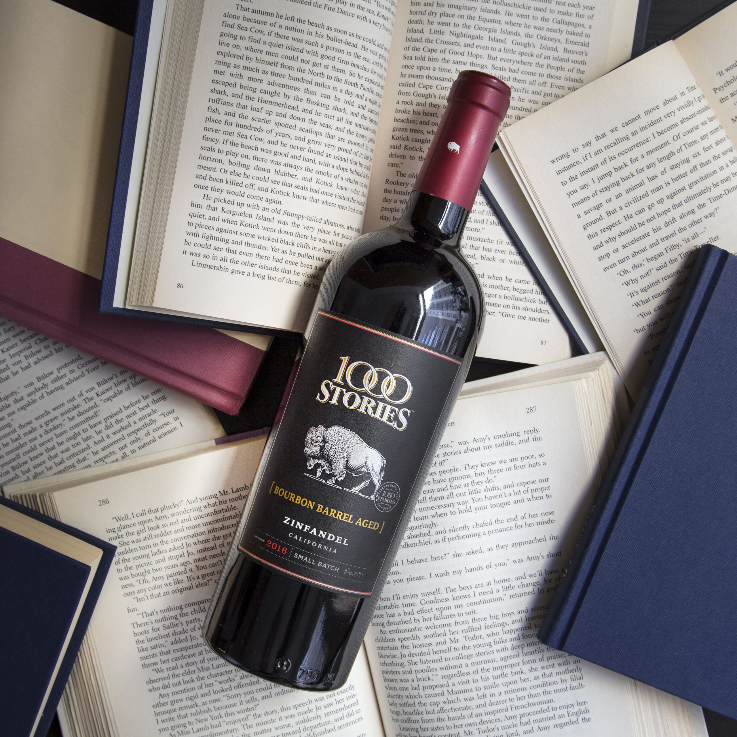 1000 Stories – Vino tinto Zinfandel 750ml.