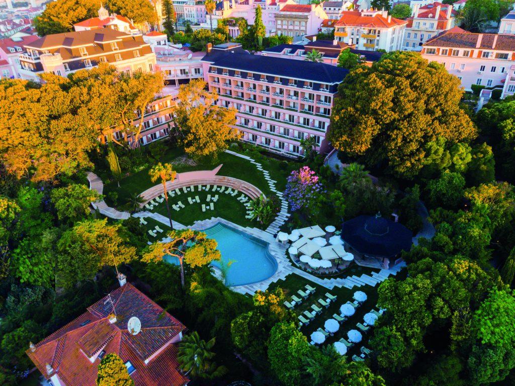 El hospedaje en Olissippo Lapa Palace es un auténtico sueño lusitano