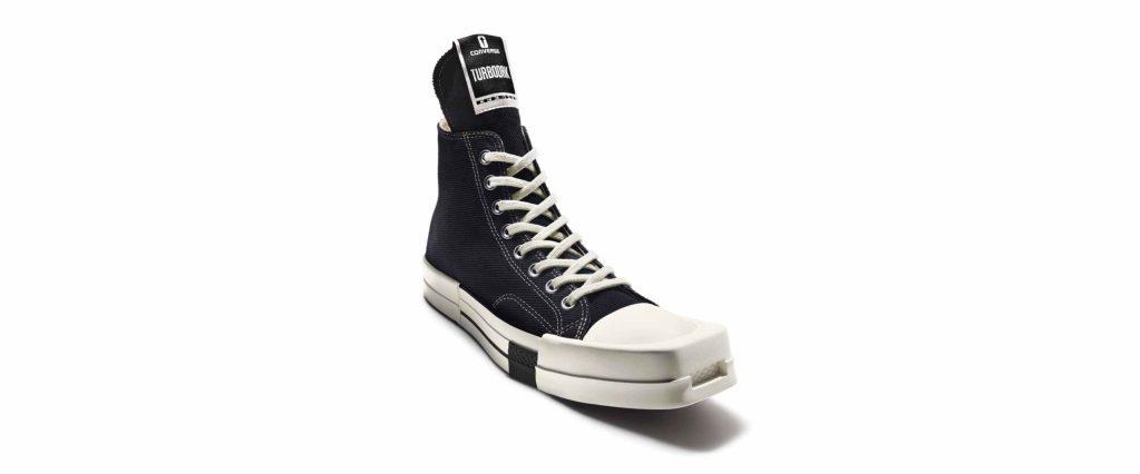 Los primeros Converse de punta cuadrada son cortesía del diseñador estadounidense Rick Owens
