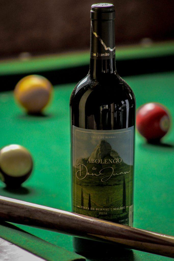 Abolengo de don Juan – Vino tinto, tinta de Bernal 75%, Malbec 25% 750 ml.
