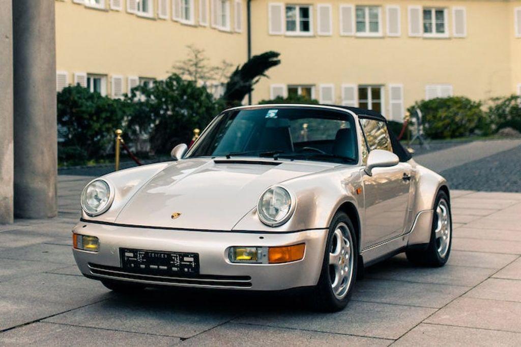 A subasta el Porsche 911 Carrera de Maradona. Interesados, necesitarán unos 5 millones de pesos