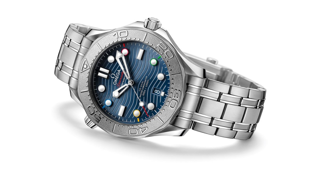 Los Juegos Olímpicos de Invierno inspiran este nuevo reloj de Omega