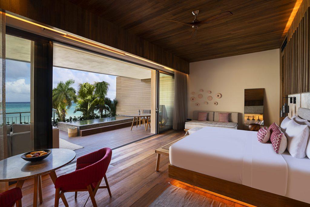 Banyan Tree Mayakoba como lo querías ver, estas son sus nuevas suites con vista al mar y club de playa