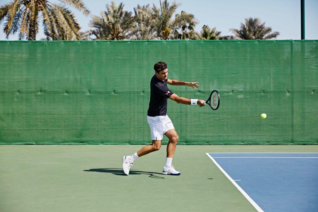 Así son las THE ROGER Pro, el exclusivo modelo de zapatillas On Running que luce Roger Federer