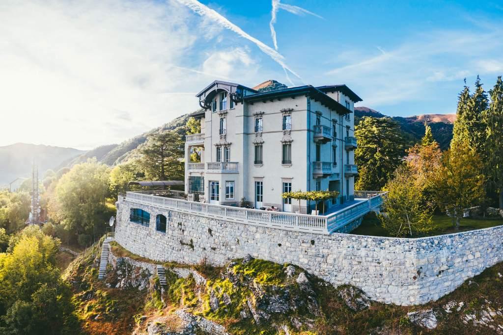 Ciao vacaciones de ensueño en la villa Peduzzi frente al Lago de Como
