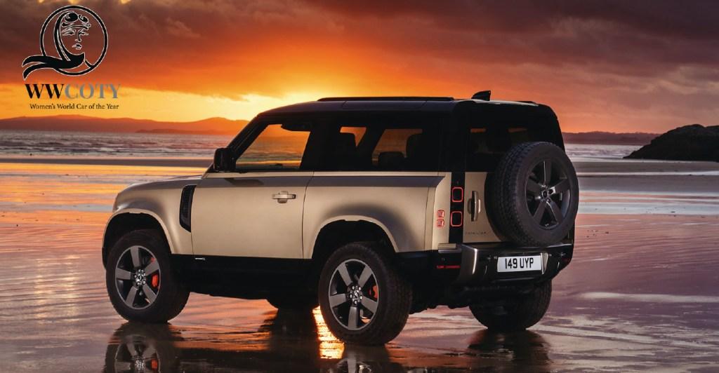 Land Rover Defender, el auto del año 2021 según Women's World y llega a México en marzo