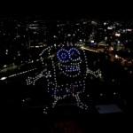 Paramount Plus ilumina el cielo de la Ciudad de México con espectáculo de drones