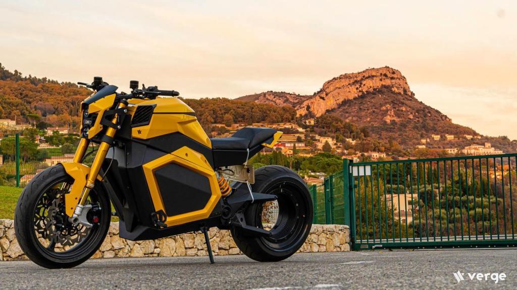 Ya está aquí Verge TS, la motocicleta eléctrica que parece venir del futuro