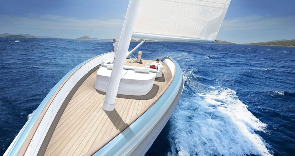Conoce este concepto de velero daysailer que promete máximo lujo sobre el agua
