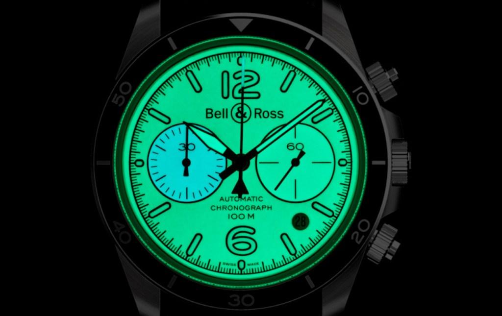 El nuevo reloj Vintage BR V2-94 Full Lum es una luz en plena oscuridad