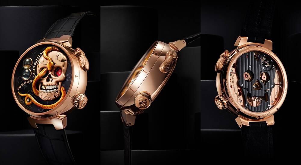 Conoce el 'Carpe Diem' el nuevo reloj autómata de Louis Vuitton