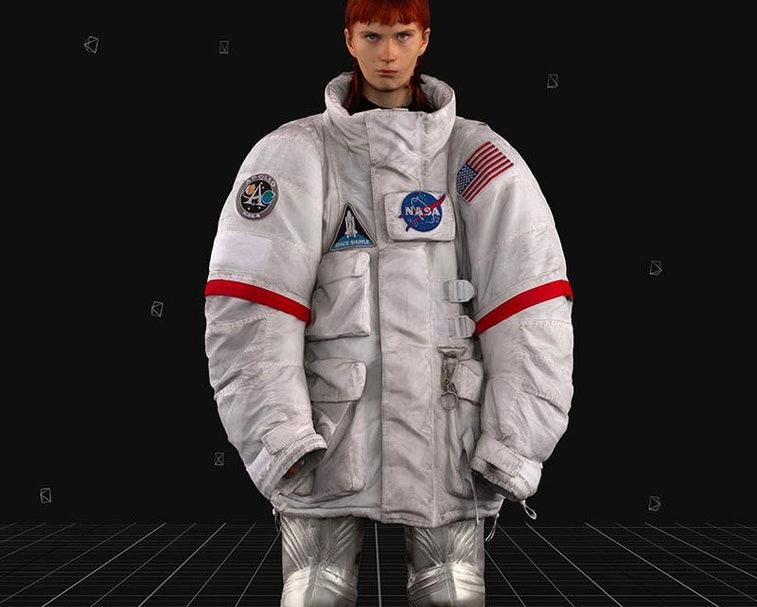 No necesitas ir al espacio para lucir como astronauta con la colección de Balenciaga y la NASA