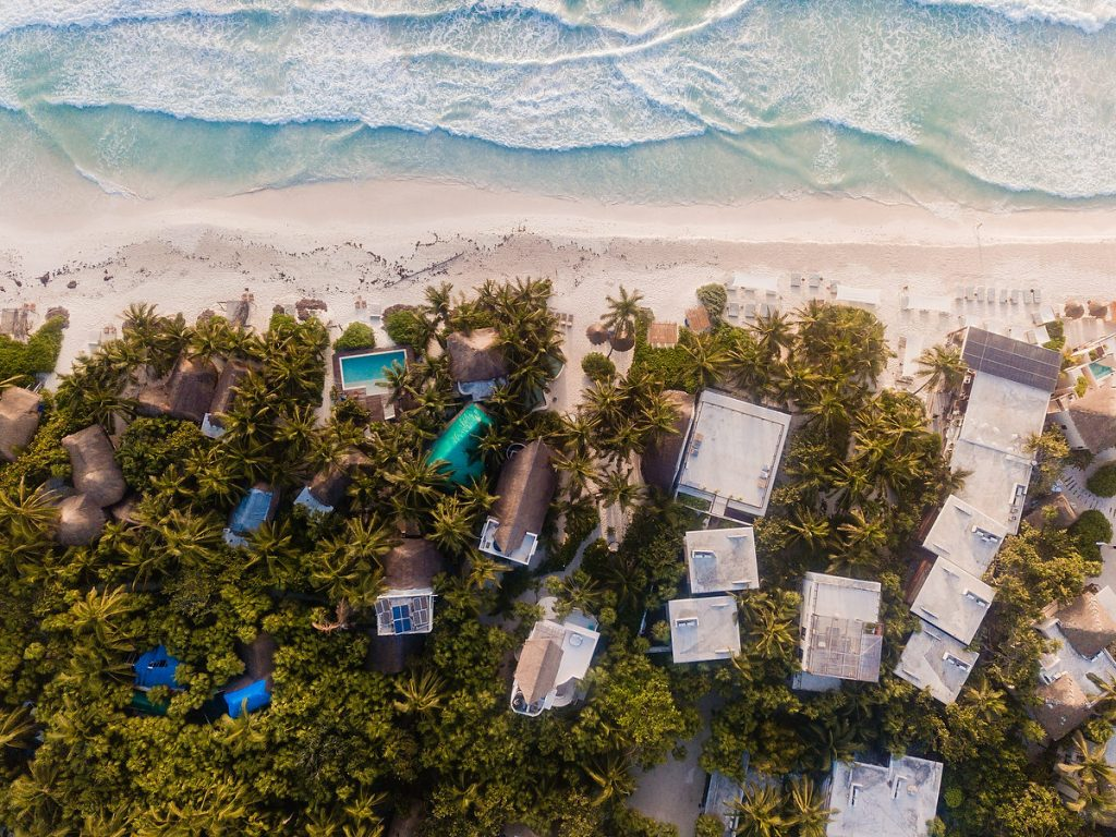 Estas son las casas más exclusivas para disfrutar lo sublime del Caribe Mexicano