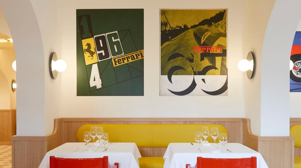 Ferrari y Massimo Bottura se han unido para revivir el histórico Ristorante Cavallino