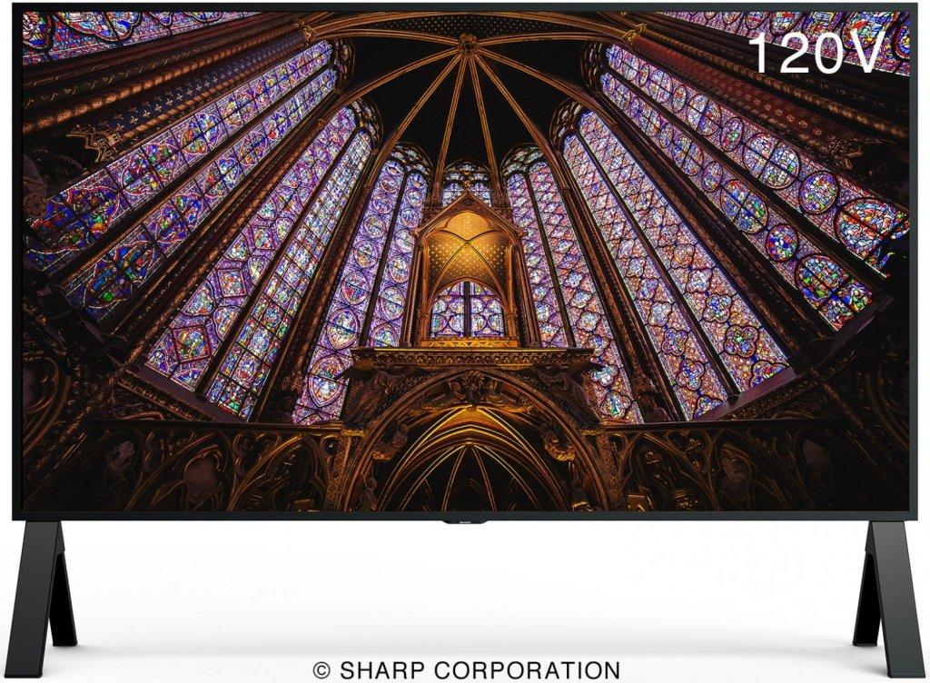 Sharp ofrece imágenes de máxima calidad a tamaño real en la pantalla 8K más grande del mundo