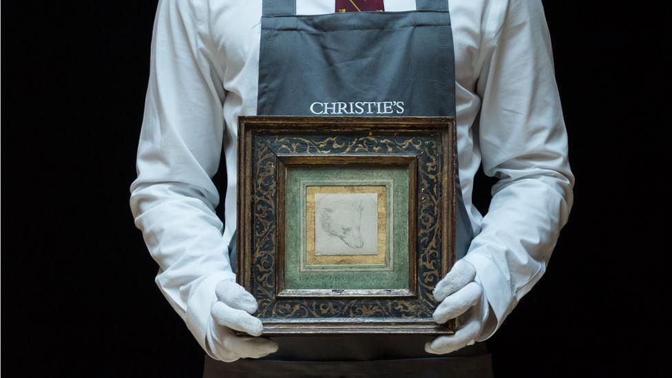 Un dibujo de 7 cm rompe récord en subasta y se convierte en el más caro de Leonardo Da Vinci
