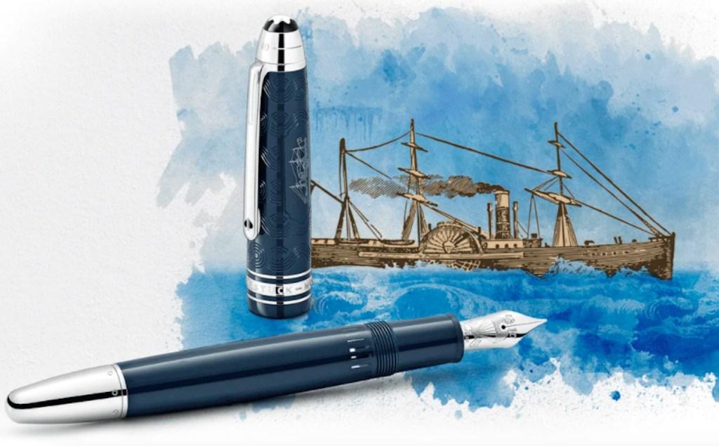 """Montblanc rinde homenaje a """"La vuelta al mundo en 80 días"""" de Julio Verne"""