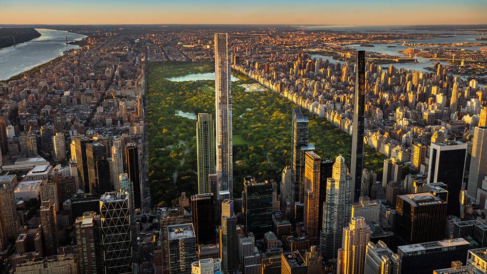 Nueva York estrenó la torre residencial más alta del mundo que te hará sentir en las nubes