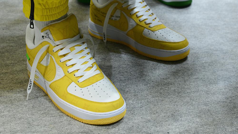 Los Air Force 1 de Louis Vuitton y Nike son los tenis que no sabíamos que necesitábamos hasta ahora