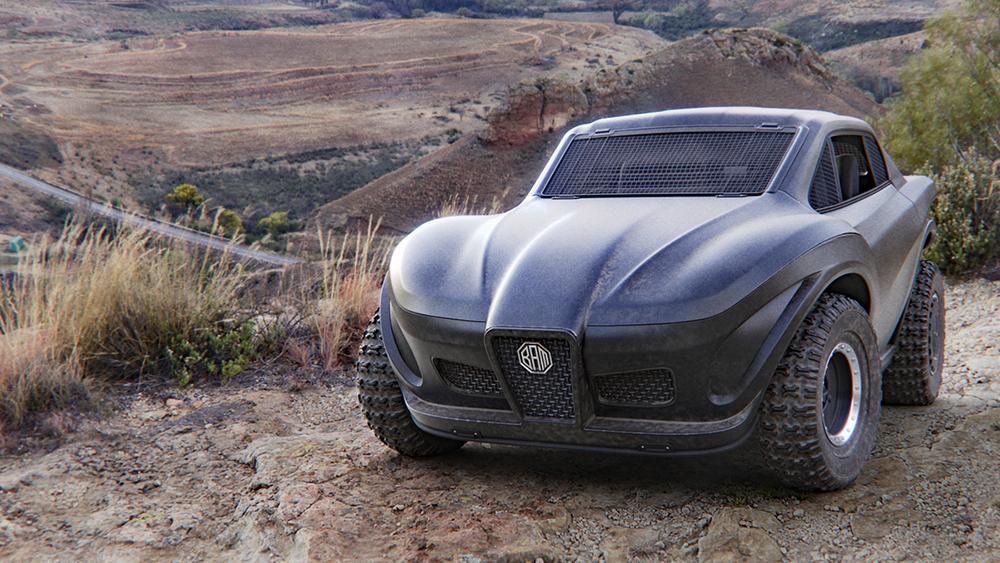 Como salido de la película de Mad Max, llega el R101, un UTV todoterreno eléctrico