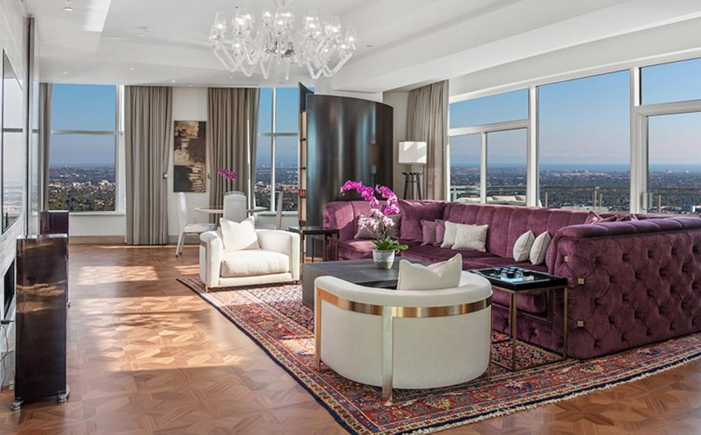 El penthouse diseñado por Roberto Cavalli en Los Ángeles puede ser tuyo por 21 mdd
