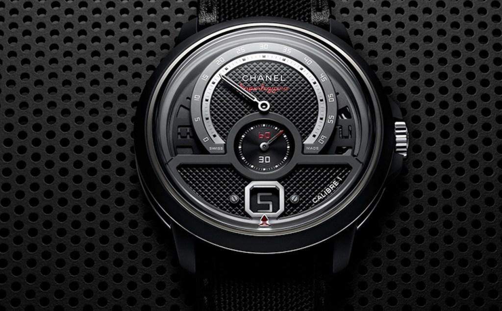 El nuevo Monsieur Superleggera de Chanel parece más un velocímetro que un reloj