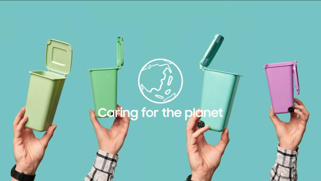 «Galaxy for the Planet», el plan de Samsung para crear smartphones con materiales reciclados