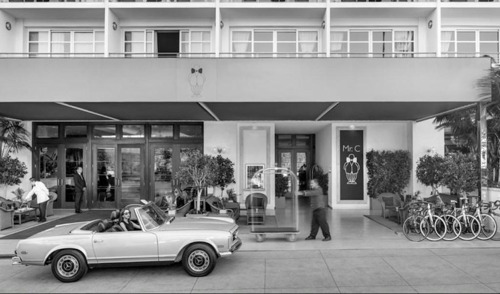 Mr. C Beverly Hills es un señor hotel que reúne ubicación y lujo