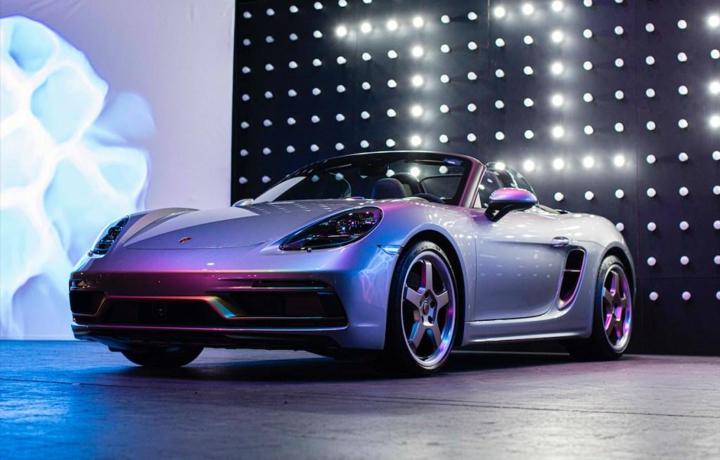 Porsche Boxster cumple 25 años y lo celebra con una edición exclusiva