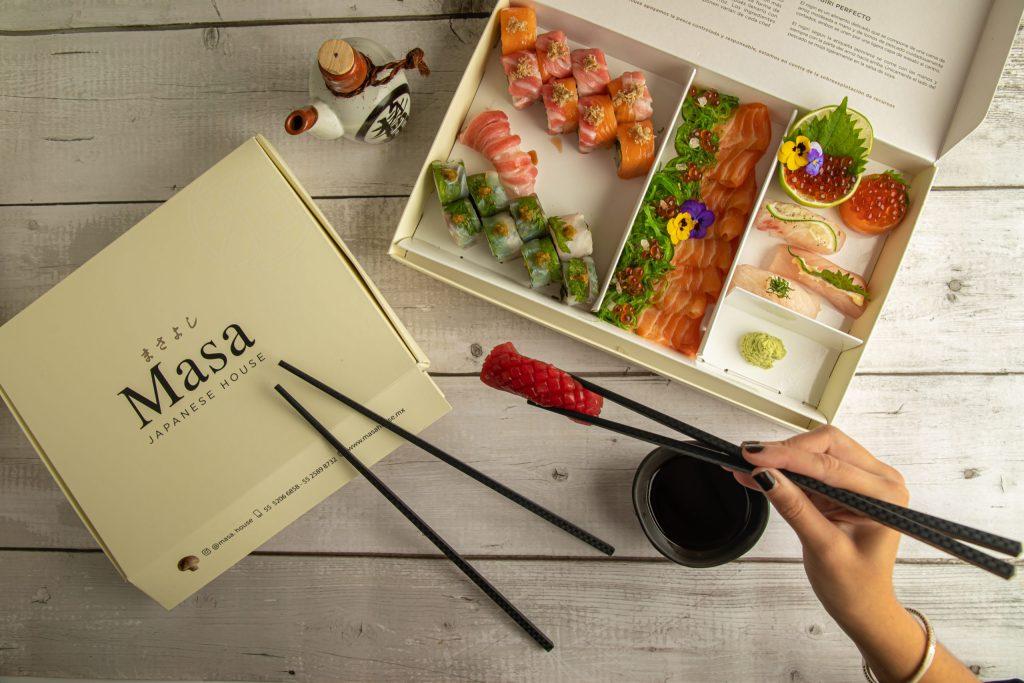 Masa Japanese House lleva lo mejor del sushi a tu hogar