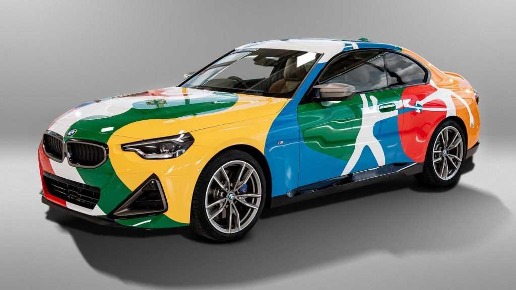 BMW presenta un Art Car que celebra a México y su unión con Alemania