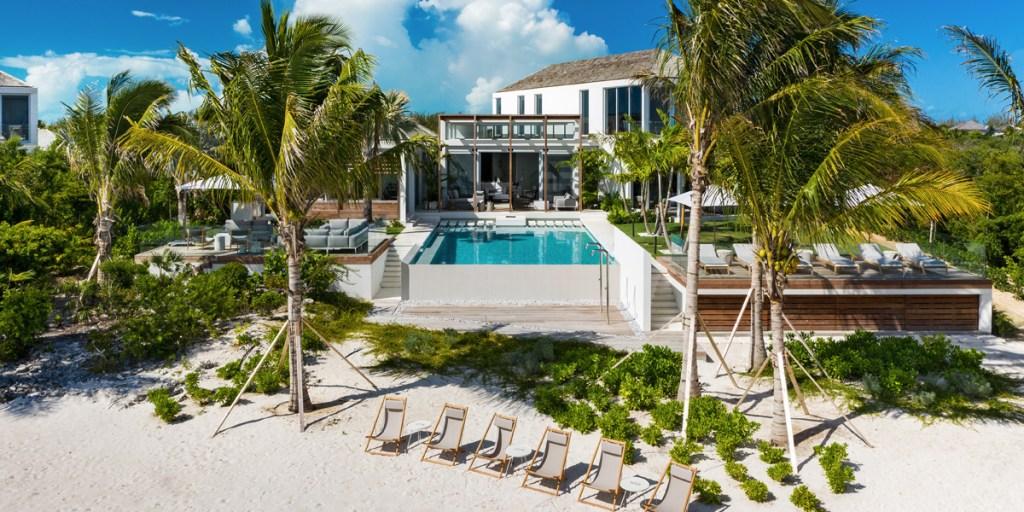 Esta villa en Turcas y Caicos tiene playa privada, chef y lujo por 18 mil dólares la noche