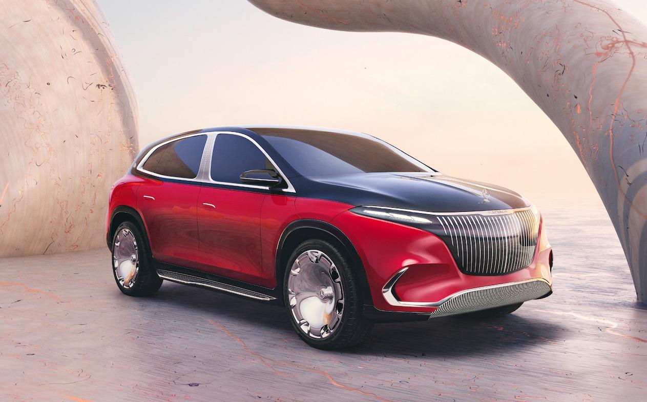 Concept Mercedes-Maybach EQS, el máximo lujo en movilidad eléctrica