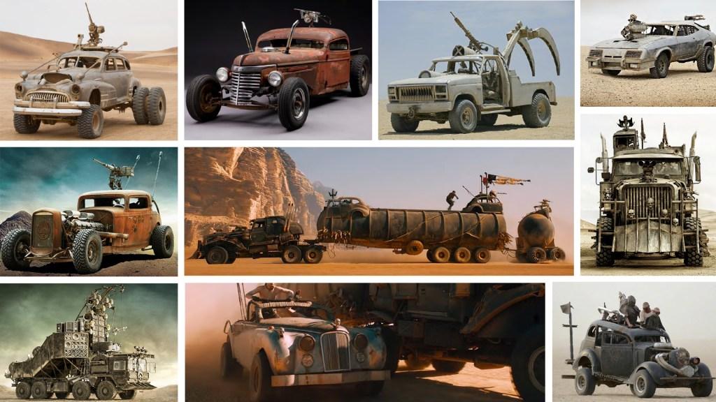 Atención fanáticos, los vehículos de 'Mad Max: Fury Road' irán a subasta