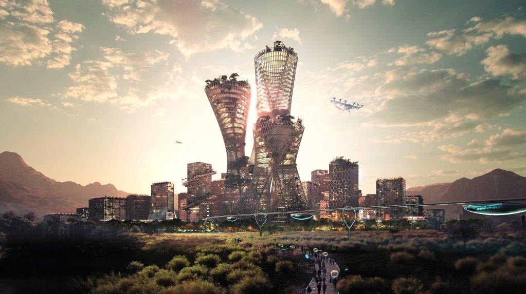 Telosa, una ciudad utópica, futurista y sostenible que podría estar lista para el 2030